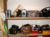 OCC ANT MIS  SK  CWN02D0130D                    USED CAMERAS ON SHELFEMPORIUM ANTIQUE MALL      SASKATOON                           07..© CLARENCE W NORRIS           ALL RIGHTS RESERVEDANTIQUES;CAMERAS;OCCUPATIONS;PHOTOGRAPHY;PLAINS;PRAIRIES;SASKATCHEWAN;SASKATOON;SHOPPING;SK_LONE PINE PHOTO                  (306) 683-0889