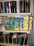 OCC ANT MIS  SK  CWN02D0133D  VTUSED BOOKS PILED ON SHELFEMPORIUM ANTIQUE MALL     SASKATOON                           07..© CLARENCE W NORRIS           ALL RIGHTS RESERVEDANTIQUES;BOOKS;OCCUPATIONS;PLAINS;PRAIRIES;READING;RETAIL;SASKATCHEWAN;SASKATOON;SHOPPING;SK_;VTLLONE PINE PHOTO                  (306) 683-0889