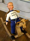 OCC ANT MIS  SK  CWN02D0146D  VTBOY DUMMY ON ROCKING HORSEEMPORIUM ANTIQUE MALL      SASKATOON                           07..© CLARENCE W NORRIS           ALL RIGHTS RESERVEDANTIQUES;BOY;DOLLS;DUMMIES;HORSES;OCCUPATIONS;PLAINS;PRAIRIES;ROCKING_HORSES;SASKATCHEWAN;SASKATOON;SHOPPING;SK_;TOYS;VTLLONE PINE PHOTO                  (306) 683-0889