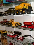 OCC ANT MIS  SK  CWN02D0176D  VT    TOY TRUCKS, GRADERS AND CRANES ON SHELFEMPORIUM ANTIQUE MALL      SASKATOON                           07..© CLARENCE W NORRIS           ALL RIGHTS RESERVEDANTIQUES;COLLECTIBLES;OCCUPATIONS;PLAINS;PRAIRIES;SASKATCHEWAN;SASKATOON;SHOPPING;SK_;TOYS;TRUCKS;VTL  LONE PINE PHOTO                  (306) 683-0889