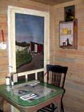 OCC ANT MIS  SK  CWN02T0134D  VTSCREEN DOOR AND FARM SCENEKEEPER'S RESTAURANTDAVIDSON                                05..© CLARENCE W. NORRIS           ALL RIGHTS RESERVEDANTIQUES;ART;DAVIDSON;DOORS;KEEPERS_RESTAURANT;OCCUPATIONS;PLAINS;PRAIRIES;RESTAURANTS;RURAL;RUSTIC;SASKATCHEWAN;SCREEN_DOORS;SK_;VTLLONE PINE PHOTO                  (306) 683-0889