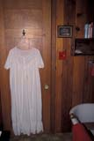 OCC BED BRE  SK     1903811D  VTNIGHTGOWN HANGING IN BATHCHAPLIN'S B AND B                FLORAL                              05                   © CLARENCE W. NORRIS      ALL RIGHTS RESERVEDACCOMODATIONS;BED_AND_BREAKFAST;CHAPLINS_B_AND_B;CLOTHING;FLORAL;HOMES;OCCUPATIONS;PLAINS;PRAIRIES;SASKATCHEWAN;SK_;SUMMER;TOURISM;VTLLONE PINE PHOTO              (306) 683-0889