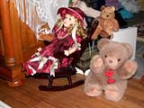 OCC CAR HOM  SK  CWN02T0319D DOLL AND TEDDY BEAR DISPLAYHEART'S HAVEN, VICTORIAN PERSONAL CARE HOMELUMSDEN                                 05..© CLARENCE W. NORRIS           ALL RIGHTS RESERVEDANTIQUES;BEARS;CARE_HOME;COLLECTIBLES;DOLLS;HOMES;LUMSDEN;OCCUPATIONS;PLAINS;PRAIRIES;SASKATCHEWAN;SK_;TEDDY;TOYS;VICTORIAN LONE PINE PHOTO                  (306) 683-0889