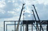OCC CON COM  SK  WDS05B3239DX CRANES USED TO CONSTRUCT NEW SOCCER CENTERSASKATOON                     ....© WAYNE SHIELS               ALL RIGHTS RESERVEDCOMMERCIAL;CONSTRUCTION;CRANES;EQUIPMENT;OCCUPATIONS;PLAINS;PRAIRIES;SASKATCHEWAN;SASKATOON;SK_LONE PINE PHOTO              (306) 683-0889