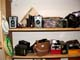 USED CAMERAS ON SHELF, SASKATOON
