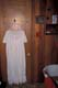 NIGHTGOWN HANGING IN BATH, CHAPLIN'S BED AND BREAKFAST, FLORAL