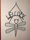 WIRE DRAGONFLY WELCOME SIGN, SWIFT CURRENT
