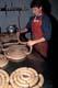 BUTCHER MAKING BEEF & PORK SAUSAGE, SASKATOON