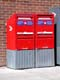 CANADA POST MAIL BINS, REGINA