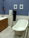 SHOW ROOM OF RE-DECORATED BATHROOM WITH OLD ENAMEL TUB, SASKATOON