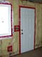 VAPOUR BARRIER SEAL ON INSIDE WALLS AND AROUND DOOR AND WINDOW, SASKATOON
