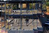 OCC CON COM  SK  WDS08I6662DXCONSTRUCTION BY ROYAL UNIVERSITY HOSPITALSASKATOON                       09© WAYNE SHIELS               ALL RIGHTS RESERVEDAUTUMN;BUILDINGS;COMMERCIAL;CONSTRUCTION;OCCUPATIONS;PEOPLE;PLAINS;PRAIRIES;SASKATCHEWAN;SASKATOON;SK_;STRUCTURESLONE PINE PHOTO              (306) 683-0889