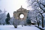 LOC WIN BON  MB  PNB2002287DST. BONIFACE CATHEDRAL ON FROSTY WINTER DAYWINNIPEG                            ../..                   © PAUL BROWNE                ALL RIGHTS RESERVEDBUILDINGS;CATHEDRAL;CHURCHES;ELEMENTS;FROST;HISTORIC;MANITOBA;MB_;PLAINS;PRAIRIES;RELIGION;SNOW;STRUCTURES;ST_BONIFACE;ST_BONIFACE_CATHEDRAL;TREES;TOURISM;WINNIPEG;WINTERLONE PINE PHOTO              (306) 683-0889