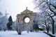 ST. BONIFACE CATHEDRAL ON FROSTY WINTER DAY, WINNIPEG