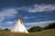 TEEPEE AND CLOUDS, ROSSENDALE