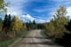 COUNTRY ROAD IN AUTUMN, RIDING MOUNTAIN NATIONAL PARK