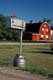 MAILBOX AND RED BARN, ST. ANNE'S