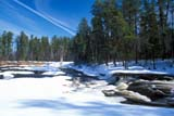 SEA SPR SCE  MB  PNB2002258D PINE POINT RAPIDS IN SPRINGWHITESHELL PROV PARK     ../..                   © PAUL BROWNE                ALL RIGHTS RESERVEDBOREAL;MANITOBA;MB_;PINE_POINT_RAPIDS;PP_;RAPIDS;SCENES;SHIELD;SHORELINE;SNOW;SPRING;TREES;WATER;WHITESHELL_PPLONE PINE PHOTO              (306) 683-0889