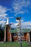 LOC COL MIS  NT  KJM0013907D  VTLOG CHURCH AND ANTLER TREEOUR LADY OF THE SNOWS CHURCHCOLVILLE LAKE                      08                   © KEVIN MORRIS                   ALL RIGHTS RESERVEDANTLER_TREE;ANTLERS;ARCTIC;ART;BUILDINGS;CATHOLIC;CHURCHES;COLVILLE_LAKE;LOGS;NORTHWEST;NORTHWEST_TERRITORIES;NT_;NWT;OUR_LADY_OF_THE_SNOWS_CHURCH;RELIGION;STRUCTURES;SUMMER;TERRITORIES;VTL;WOODLONE PINE PHOTO              (306) 683-0889
