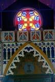 LOC FOR GOO  NT  KJM0005812D  VTORNATE CHURCH INTERIOROUR LADY OF GOOD HOPE CHURCHFORT GOOD HOPE                05                   © KEVIN MORRIS                   ALL RIGHTS RESERVEDARCTIC;CATHOLIC;CHURCHES;FORT_GOOD_HOPE;NORTHWEST;NORTHWEST_TERRITORIES;NT_;NWT;OUR_LADY_OF_GOOD_HOPE_CHURCH;RELIGION;STAINED_GLASS;SUMMER;TERRITORIES;VTLLONE PINE PHOTO              (306) 683-0889