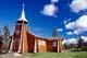 LOG CHURCH, OUR LADY OF THE SNOWS CHURCH, COLVILLE LAKE