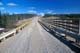 GRAVEL ROAD OVER BRIDGE, FORT GOOD HOPE