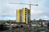LOC YEL MIS  NT  KJM0224513DHIGH-RISE BUILDING UNDER CONSTRUCTIONYELLOWKNIFE                     09..© KEVIN MORRIS                 ALL RIGHTS RESERVEDAUTUMN;BUILDINGS;CONSTRUCTION;CRANES;EQUIPMENT;HIGH_RISES;MULTI_UNIT_DWELLINGS;NORTHWEST;NORTHWEST_TERRITORIES;NT_;NWT;SHIELD;STRUCTURES;TERRITORIES;URBAN;YELLOWKNIFELONE PINE PHOTO              (306) 683-0889