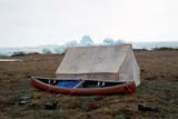 LOC HOL MIS  NT  KJM0009118DCANOE AND INUIT CAMPHOLMAN                               06                   © KEVIN MORRIS                   ALL RIGHTS RESERVEDARCTIC;BEACH;BEAUFORT_SEA;BREAKUP;CANOES;HOLMAN;ICE;INUIT;NORTHWEST;NORTHWEST_TERRITORIES;NT_;NWT;OCEAN;SEA_ICE;SHELTERS;SUMMER;TENTS;TERRITORIES;VICTORIA_ISLANDLONE PINE PHOTO              (306) 683-0889