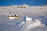 LOC HOL MIS  NT  KJM0103409DOLD BOAT ON ROCKY HILLSIDEHOLMAN                               03                   © KEVIN MORRIS                   ALL RIGHTS RESERVEDABANDONED;ARCTIC;BEAUFORT_SEA;BOATS;HILLS;HOLMAN;NORTHWEST;NORTHWEST_TERRITORIES;NT_;NWT;SNOW;TERRITORIES;VICTORIA_ISLAND;WINTERLONE PINE PHOTO              (306) 683-0889