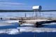 ICE AND FLOAT PLANE FUEL DOCK, INUVIK