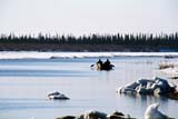 LOC INU MIS  NT  KJM0005417DPADDLERS ON MACKENZIE RIVER AT BREAKUPINUVIK                                 05                  © KEVIN MORRIS                   ALL RIGHTS RESERVEDACTIVITIES;ARCTIC;BOATS;BREAKUP;ICE;INUVIK;MACKENZIE_RIVER;NORTHWEST;NORTHWEST_TERRITORIES;NT_;NWT;OUTDOORS;PEOPLE;RIVERS;SPRING;TERRITORIES;TRANSPORTATION;WATERLONE PINE PHOTO              (306) 683-0889