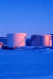 LOC INU MIS  NT  KJM0101012D  VTOIL TANK FARM IN WINTERINUVIK                                   02                  © KEVIN MORRIS                   ALL RIGHTS RESERVEDARCTIC;INDUSTRY;INUVIK;NORTHWEST;NORTHWEST_TERRITORIES;NT_;NWT;OIL_AND_GAS;STORAGE;STORAGE_TANKS;STRUCTURES;TERRITORIES;TWILIGHT;VTL;WINTERLONE PINE PHOTO              (306) 683-0889