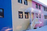 LOC INU MIS  NT  KJM0101109DMULTI-COLOURED ROW HOUSES IN WINTERINUVIK                                 02                  © KEVIN MORRIS                   ALL RIGHTS RESERVEDARCTIC;BUILDINGS;HOMES;INUVIK;MULTI_UNIT_DWELLINGS;NORTHWEST;NORTHWEST_TERRITORIES;NT_;NWT;SNOW;STRUCTURES;TERRITORIES;WINTERLONE PINE PHOTO              (306) 683-0889