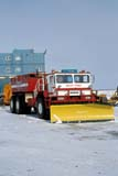 LOC INU MIS  NT  KJM0105305D  VTTRUCK WITH SNOW PLOW BLADEMACKENZIE DELTA OIL EXPLORATIONINUVIK                                   04                  © KEVIN MORRIS                   ALL RIGHTS RESERVEDARCTIC;AUTOS;EQUIPMENT;INDUSTRY;INUVIK;MACKENZIE_RIVER;NORTHWEST;NORTHWEST_TERRITORIES;NT_;NWT;OIL_AND_GAS;SNOW;SNOW_REMOVAL;SPRING;TERRITORIES;TRANSPORTATION;TRUCKS;VTLLONE PINE PHOTO              (306) 683-0889