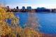NORTHWEST TERRITORIES LEGISLATIVE BUILDINGS ON FRAME LAKE, YELLOWKNIFE