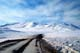 ROAD AND MOUNTAINS, DEMPSTER HIGHWAY