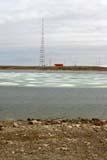 SEA SUM SCE  NU  MTT1425DX  CAMBRIDGE BAY SIGNAL TOWER (600 FEET HIGH)CAMBRIDGE BAY                  07..© MIKE TOBIN                     ALL RIGHTS RESERVEDARCTIC;BREAKUP;CAMBRIDGE_BAY;COMMUNICATIONS;ICE;NORTH;NU_;NUNAVUT;SIGNAL_TOWERS;SUMMER;TOWERS;VTLLONE PINE PHOTO              (306) 683-0889