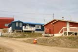 SEA SUM SCE  NU  MTT1432DX  BLUE HOUSECAMBRIDGE BAY                  07..© MIKE TOBIN                     ALL RIGHTS RESERVEDARCTIC;BUILDINGS;CAMBRIDGE_BAY;HOMES;NORTH;NU_;NUNAVUT;REMOTE;STRUCTURES;SUMMER;TOWNS LONE PINE PHOTO              (306) 683-0889
