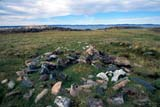 SEA SUM SCE  NU  JLB0103307DSTONE HOUSE REMAINS, THULE CULTUREWAGER BAY                        08© JOHN L. BYKERK              ALL RIGHTS RESERVEDARCTIC;HISTORIC;HOMES;NU_;NUNAVUT;ROCKS;SHORELINE;STRUCTURES;SUMMER;THULE;THULE_ERA;TUNDRA;VTL;WAGER_BAYLONE PINE PHOTO              (306) 683-0889