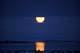 MOONRISE OVER WAGER BAY, NUNAVUT