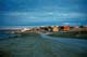ROAD LEADING INTO TOWN IN SUMMER, CAMBRIDGE BAY