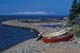 DORIES ON THE SHORELINE, GRAND MANAN ISLAND