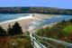 STEPS TO THE BEACH, NEILS HARBOUR, CAPE BRETON ISLAND
