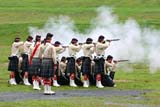 HIS NAT HAL  NS  CRS07A0250DXFIRING PRACTICE, CHANGING OF THE GUARD ENCAMPMENTHALIFAX                              07© CLIFF SANDESON              ALL RIGHTS RESERVEDACTIVITIES;ATLANTIC;CHANGING_OF_THE_GUARD_ENCAMPMENT;COSTUMES;GUNS;HALIFAX;HISTORIC;KILTS;MALE;MARITIMES;MILITARY;NOVA;NOVA_SCOTIA;NS_;OUTDOORS;PEOPLE;RE_ENACTMENTS;SCOTIA;SOLDIERS;SUMMER;UNIFORMS;WAR;WEAPONSLONE PINE PHOTO              (306) 683-0889