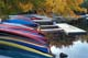 CANOES IN AUTUMN, KEJIMKUJIK NATIONAL PARK