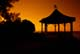GAZEBO AT SUNSET, NIAGARA-ON-THE-LAKE