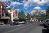 LOC CAN MIS  AB     2111111D  MAINSTREET IN SUMMERCANMORE                            08/22© CLARENCE W. NORRIS       ALL RIGHTS RESERVEDAB_;ALBERTA;ALPINE;AUTOS;CANMORE;CORDILLERA;MAIN_STREETS;MOUNTAINS;PARKING;RETAIL;STREETS;SUMMER;TOURISM;TOWNSLONE PINE PHOTO              (306) 683-0889