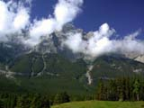 LOC BAN MIS  AB  CWN02D2161D CLOUDS RISING OFF MOUNTAINSCANMORE                                08..© CLARENCE W. NORRIS           ALL RIGHTS RESERVEDAB_;ALBERTA;ALPINE;CANMORE;CLOUDS;CORDILLERA;MOUNTAINS;ROCKIES;SCENES;SUMMER;WEATHERLONE PINE PHOTO                  (306) 683-0889