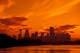 CALGARY SKYLINE AT SUNSET, CALGARY