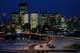 CALGARY SKYLINE AT NIGHT IN WINTER, CALGARY